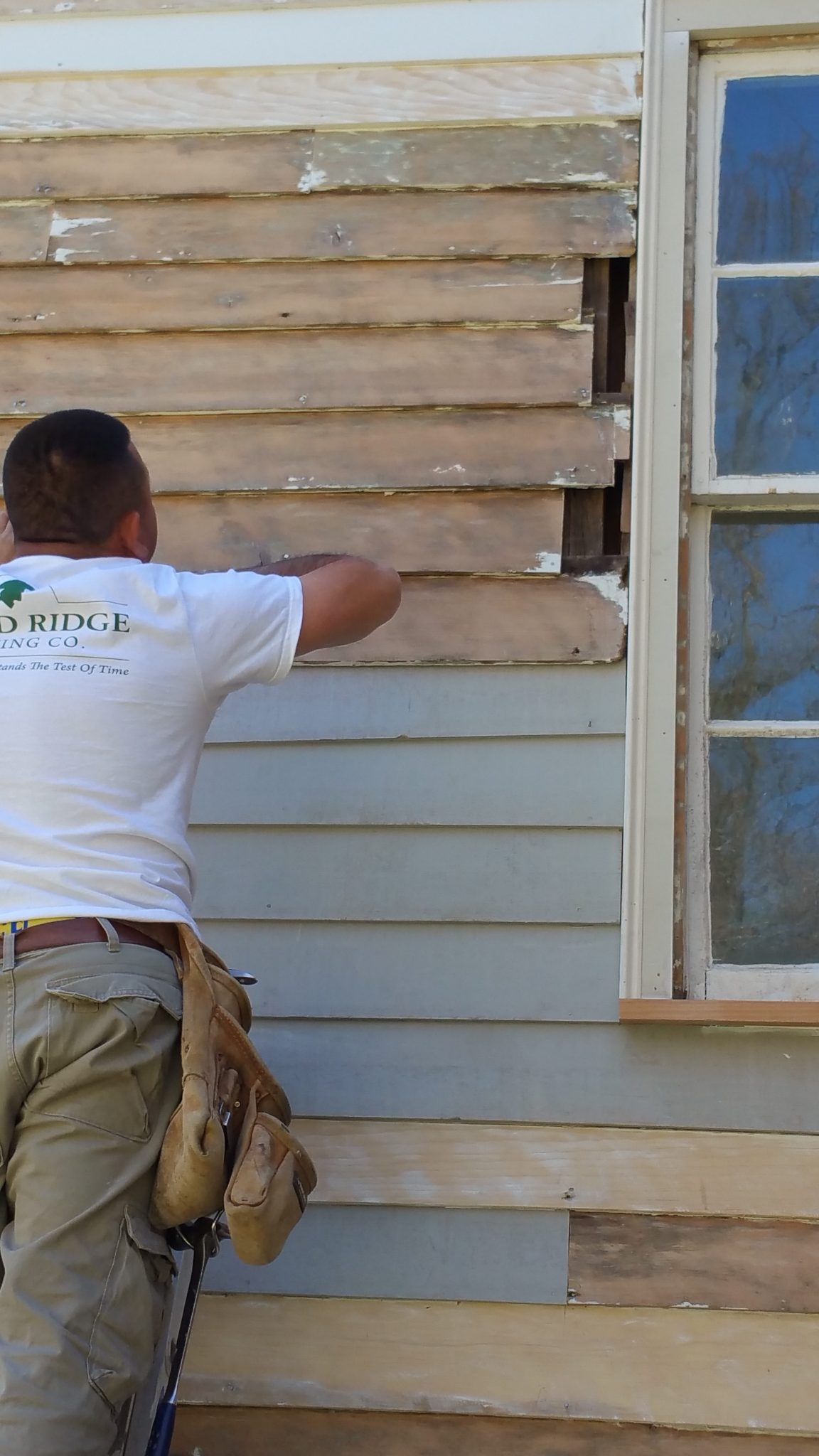 exterior carpentry repair