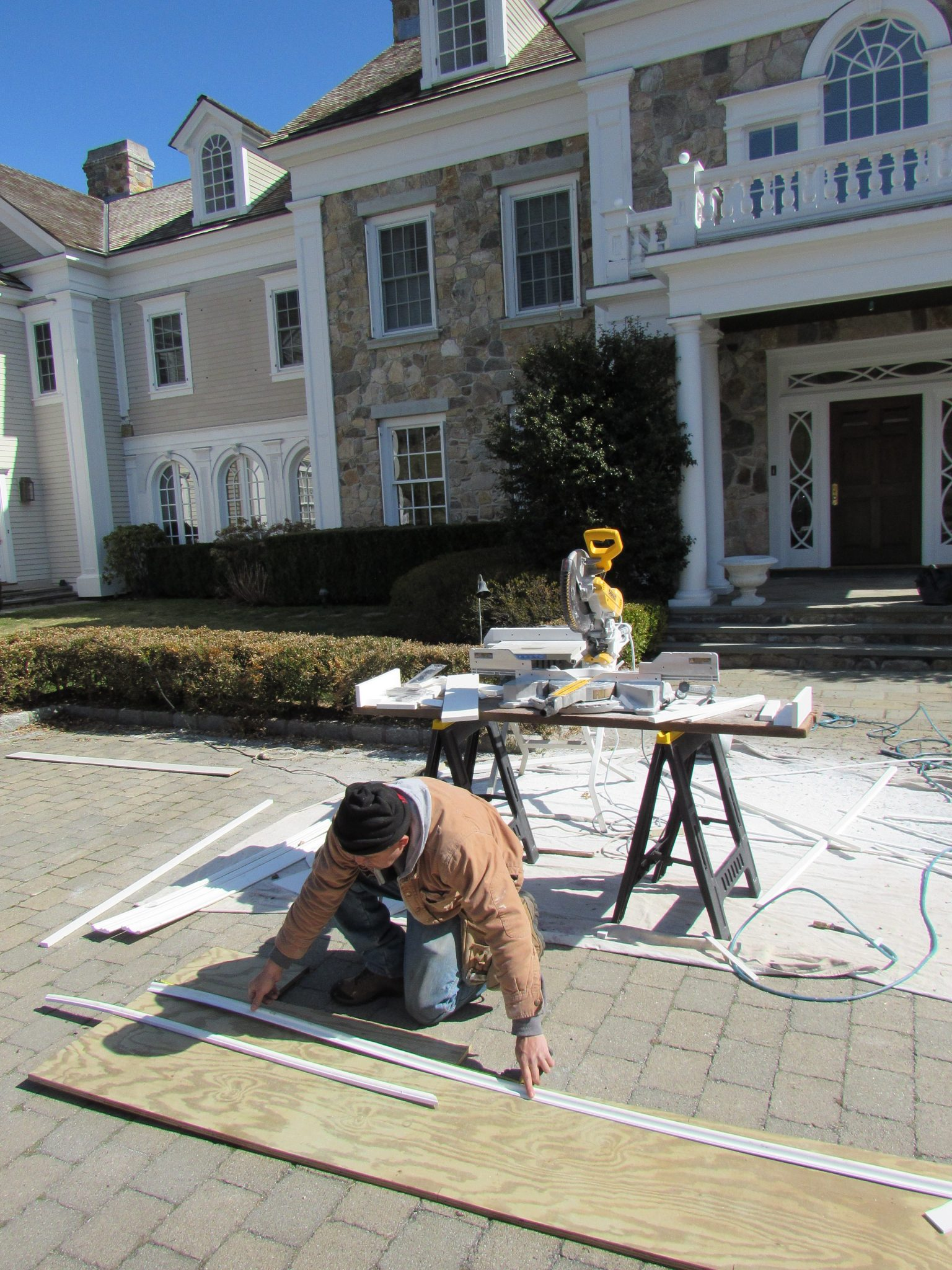 Carpentry Pound Ridge Painting Co Professional House