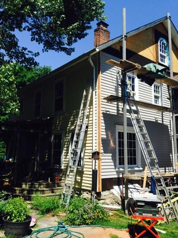 exterior siding replacement