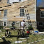 exterior restoration siding repair