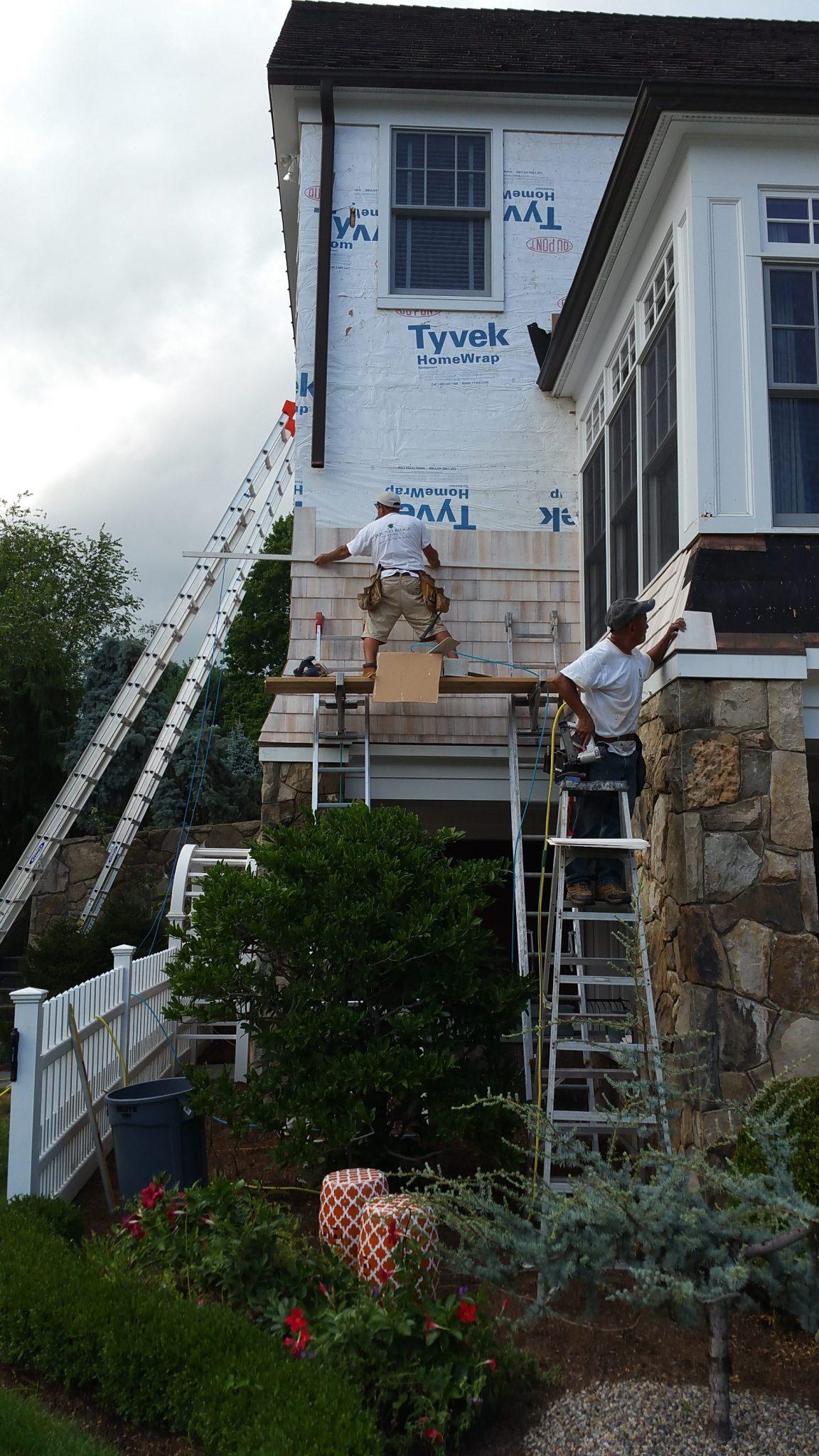 exterior carpentry repair