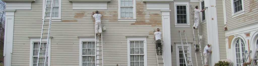 Exterior Paint Prep New Canaan, CT