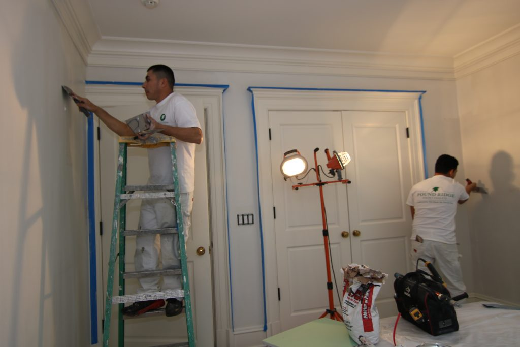 Plaster Preparation and Interior Painting