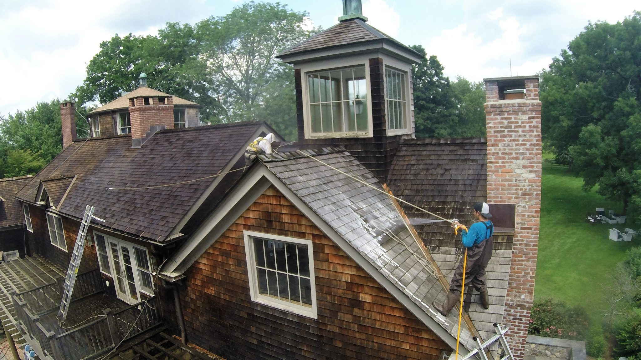 Waccabuc, NY Cedar Roof Repair