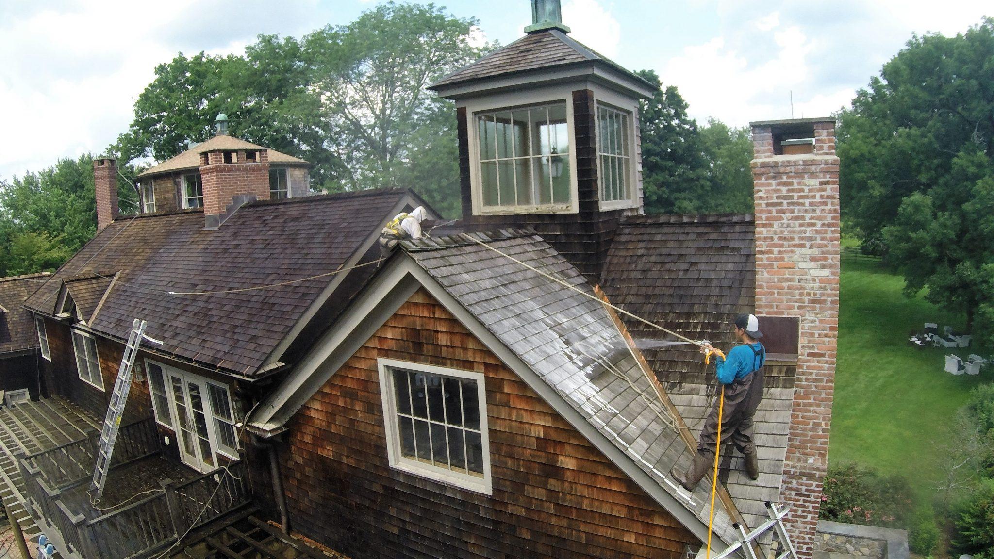 Waccabuc, NY Cedar Roof Repair