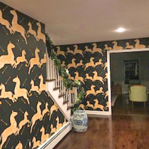 Pound Ridge Painting Co. Wallpaper Installation
