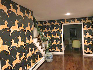 Pound Ridge Painting Co. Wallpaper Installation