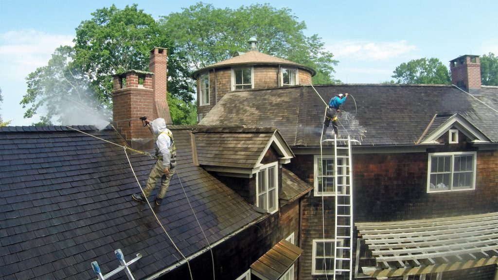 Cedar Shingle Restoration Pound Ridge Painting Co