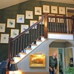 Foyer Wallpaper Pound Ridge NY